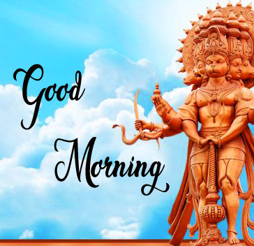 Lord Hanuman Ji good morning 12