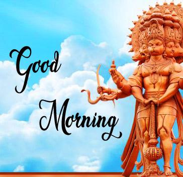 Lord Hanuman Ji good morning Photo Free Download