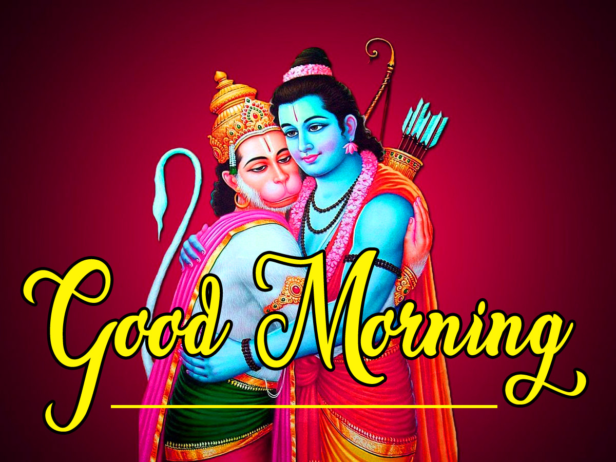 Latest Free Lord Hanuman Ji good morning Pics Download