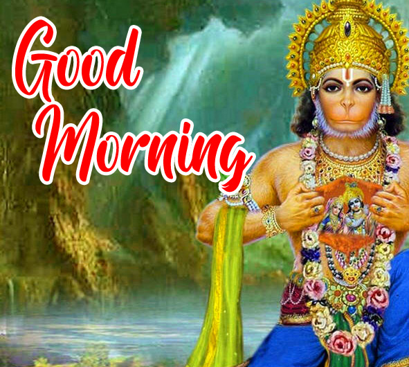 Lord Hanuman Ji good morning 2