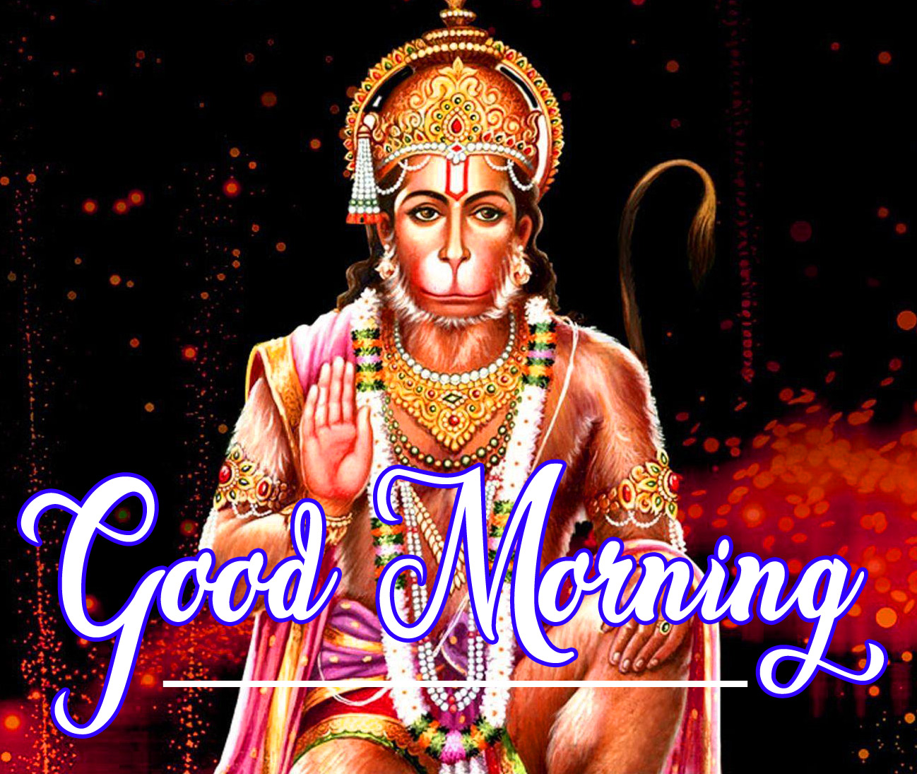 Lord Hanuman Ji good morning 20