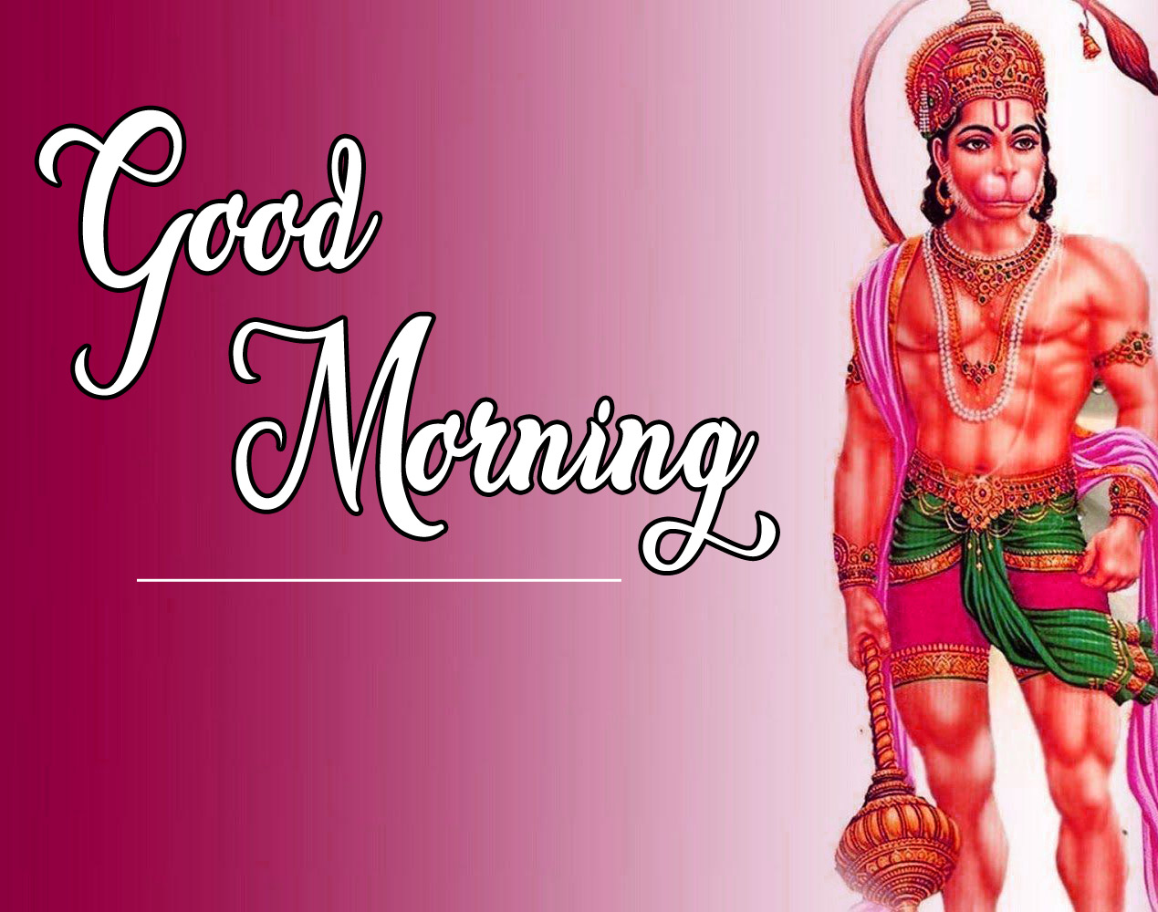 Lord Hanuman Ji good morning 21