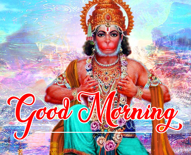 Lord Hanuman Ji good morning 4