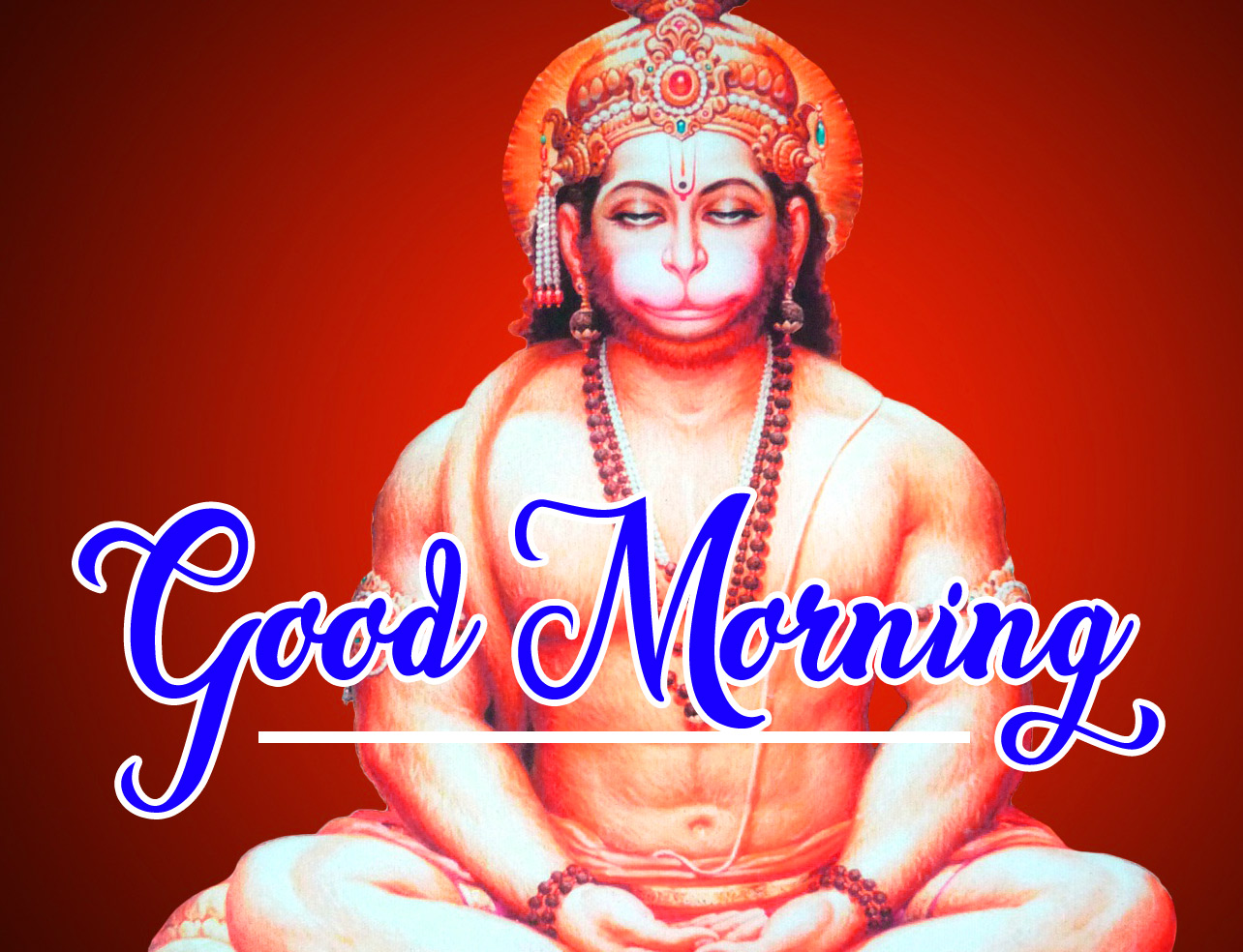 Lord Hanuman Ji good morning 6