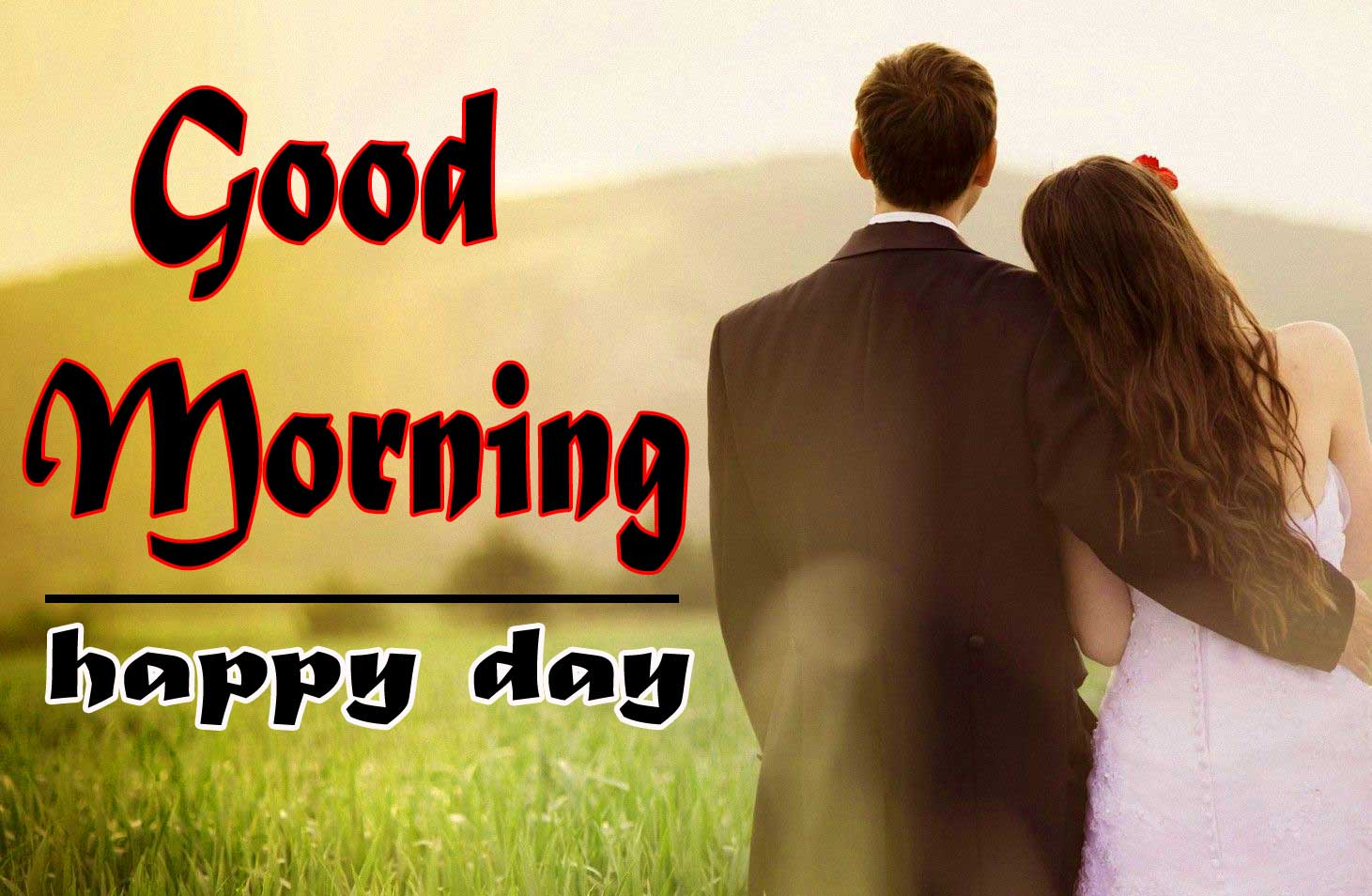 Romantic Love Couple Good Morning 11