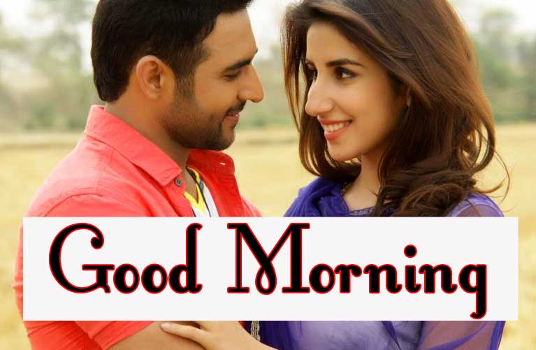 Romantic Love Couple Good Morning 16