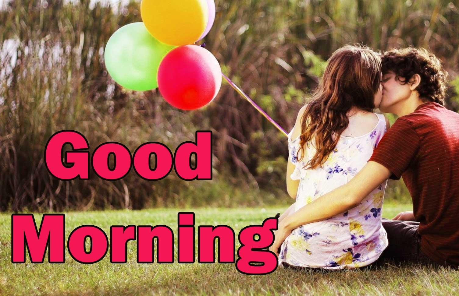 Romantic Love Couple Good Morning 17