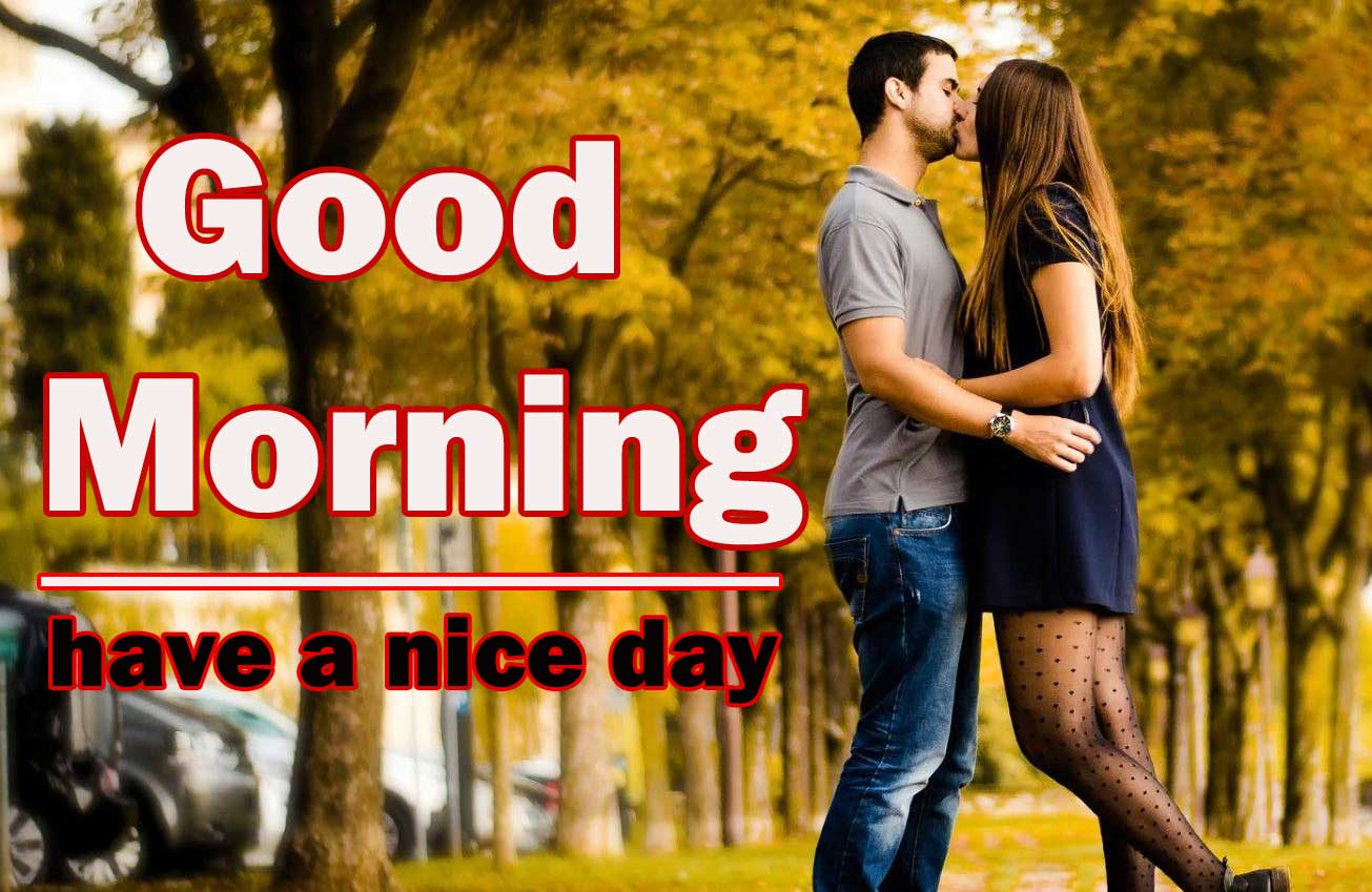 Romantic Love Couple Good Morning 19