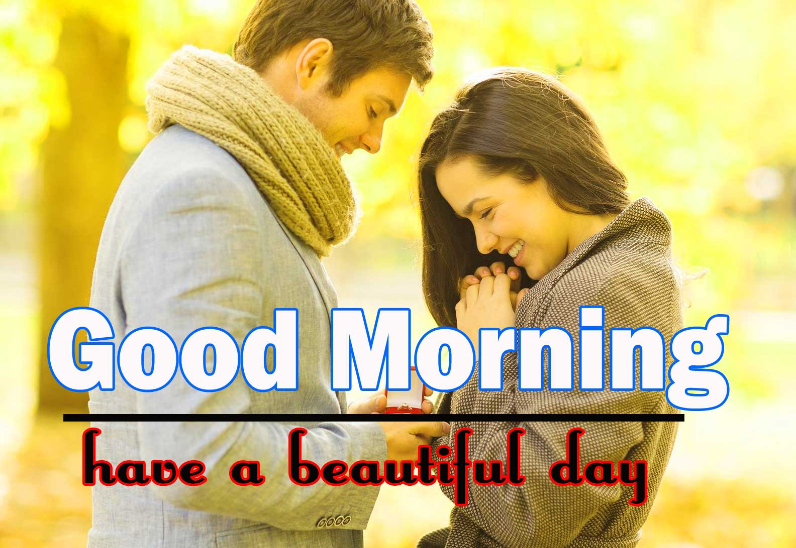 Romantic Love Couple Good Morning 3