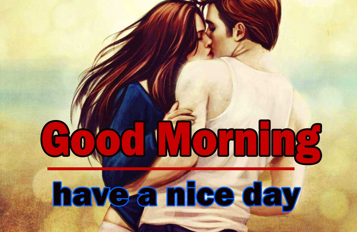 Romantic Love Couple Good Morning 4