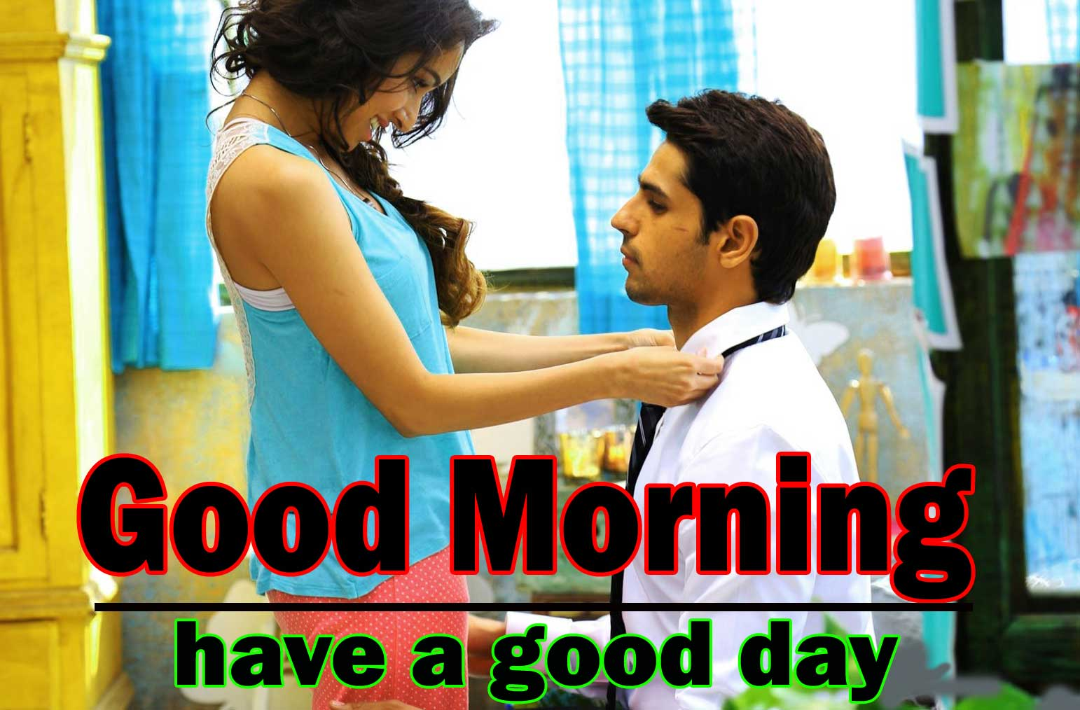Romantic Love Couple Good Morning 7