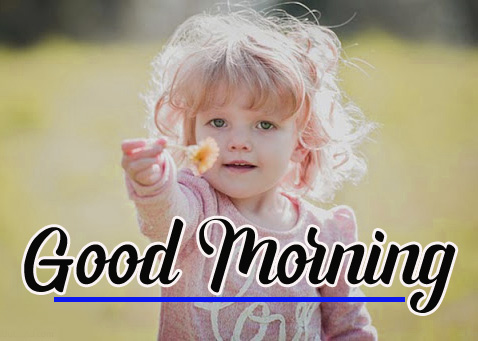 Cute Baby Free Good Morning Pics Images Download