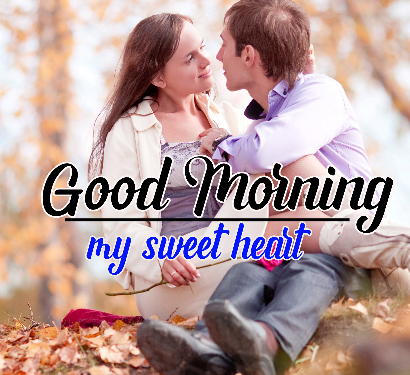 Sweet Couple Free Good Morning Images Download