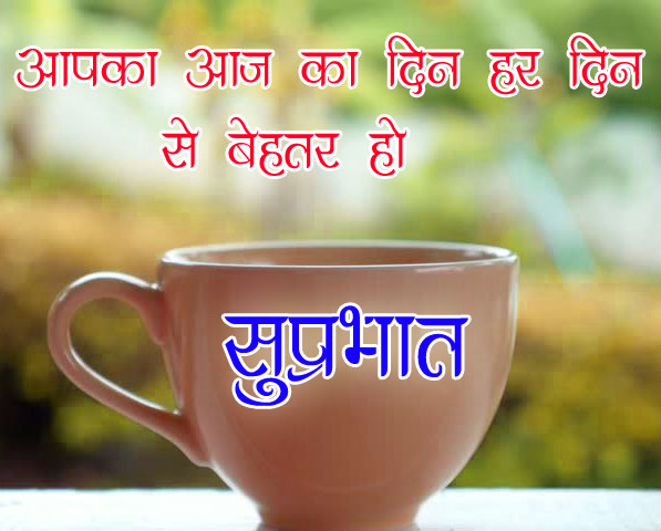 Good Morning Images With Hindi Quotes for Whatsapp