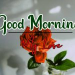 Morning Wishes Images With Red Rose 7