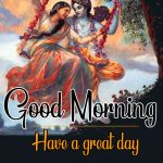 Radha Krishna Good Morning Images 51
