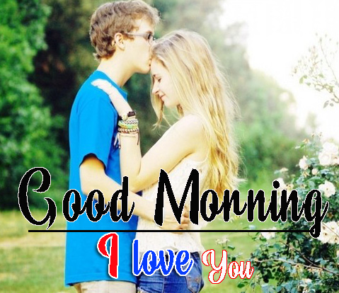 Sweet Couple Romantic Good Morning Pics Download