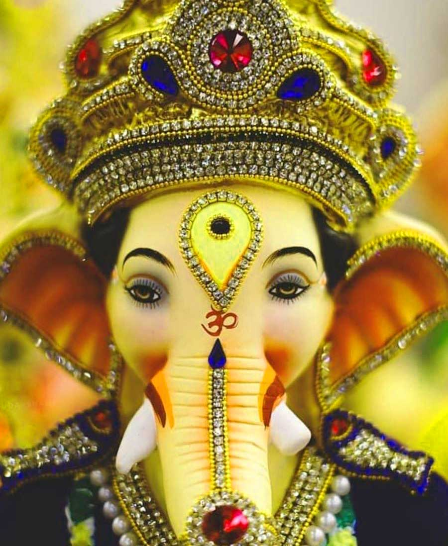 Lord Ganesha Images HD 1080p Wallpaper Free Download