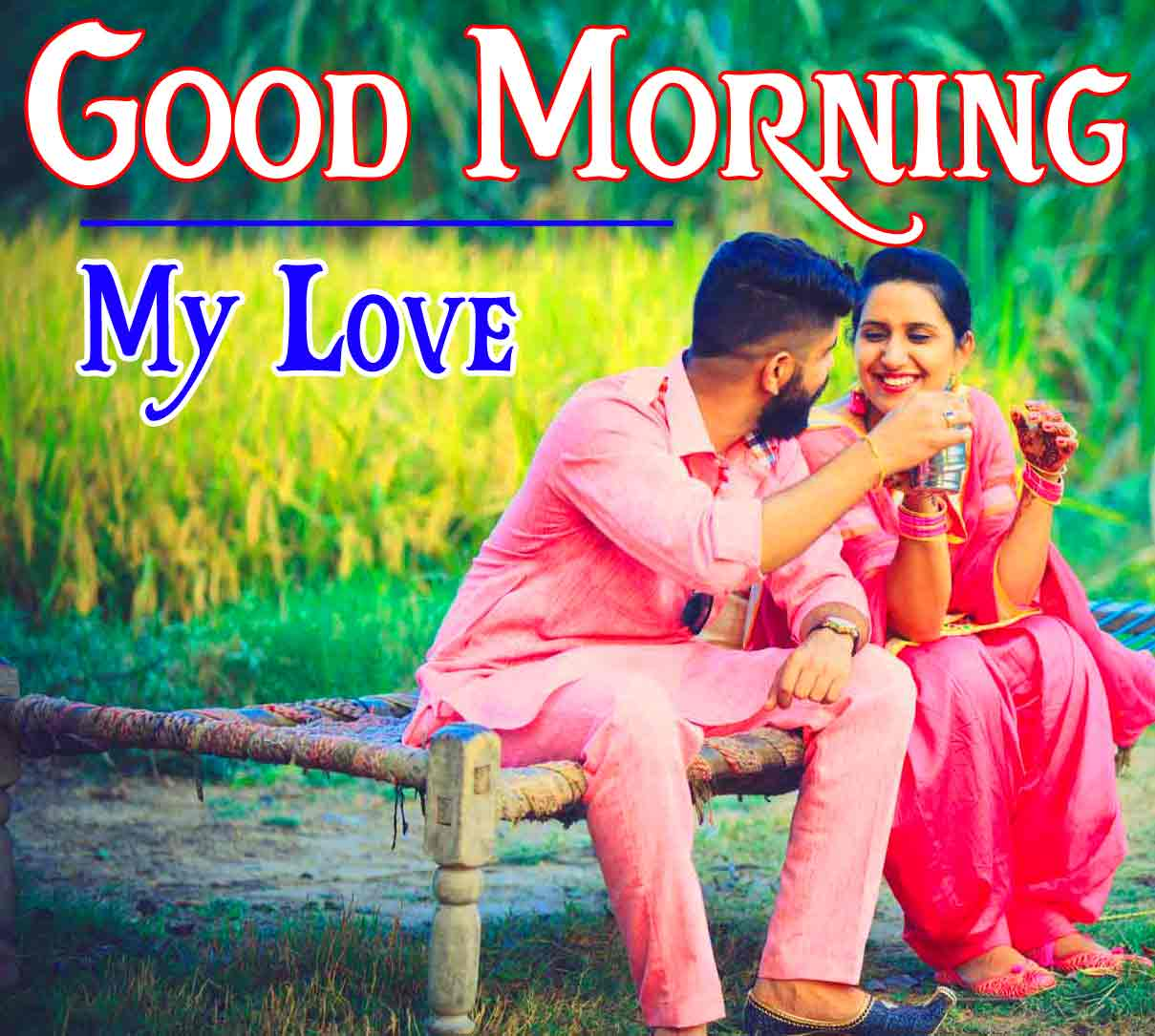 Good Morning 4k HD Images HD Pics With Punjabi Couple