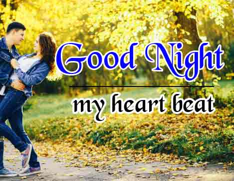 Good Night Wallpaper Images for Love Couple