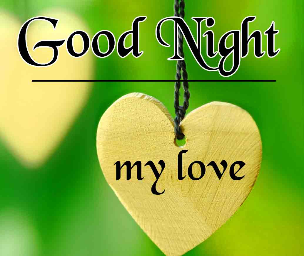 Good Night Wallpaper Pics Download With Heart