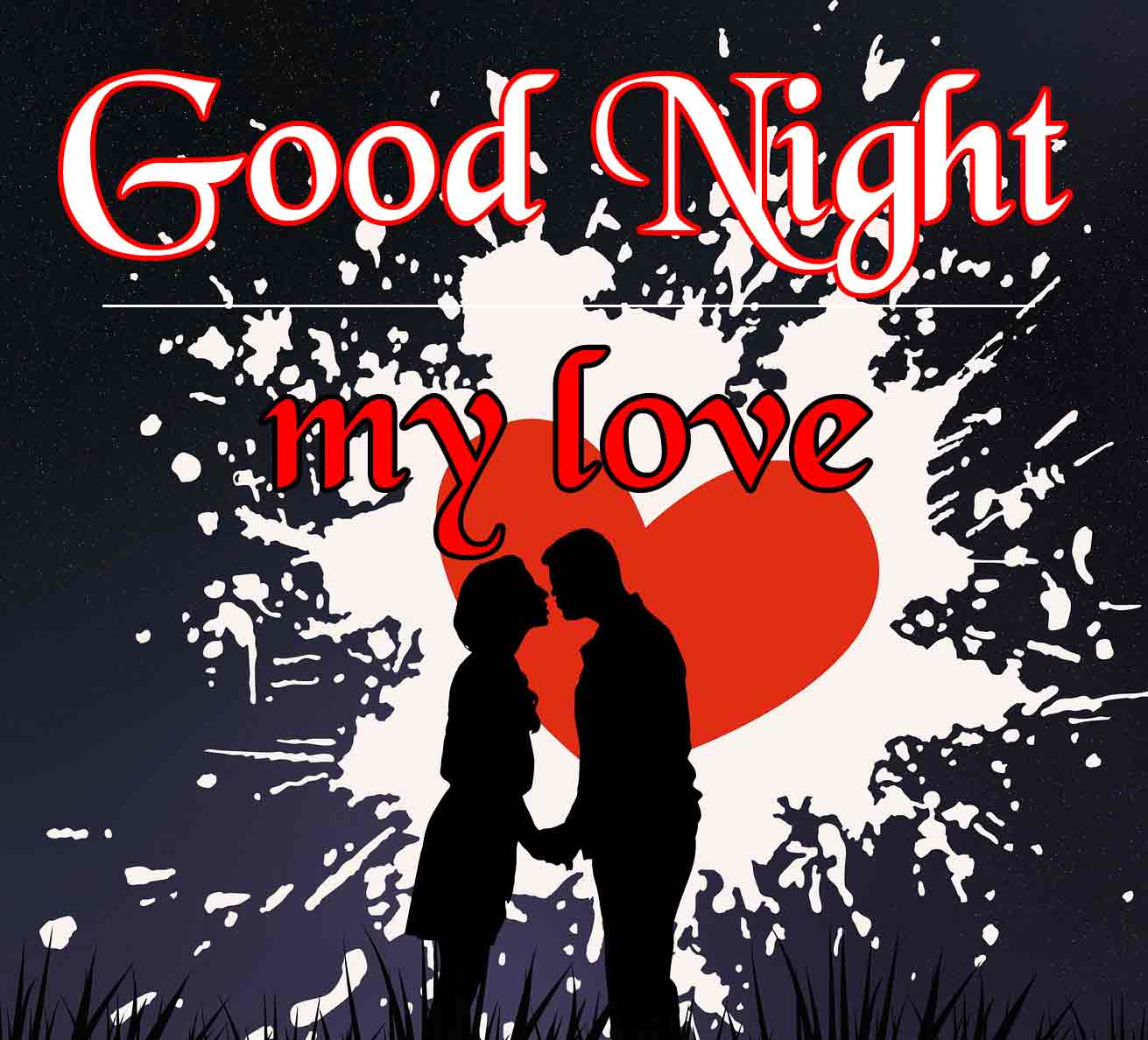 Couple Free Good Night Wallpaper Images Download