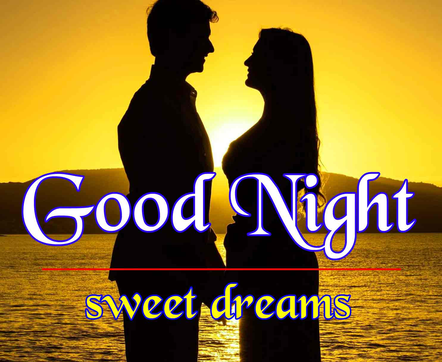 Good Night Wallpaper photo for Romantic Love Couple