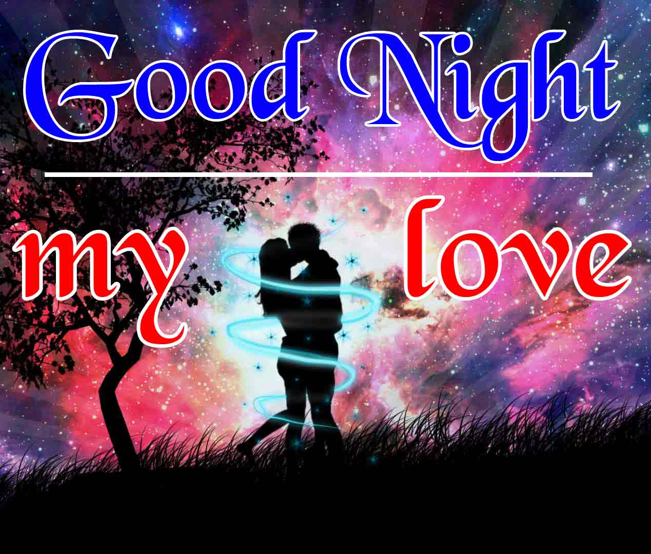 Sweet Couple Good Night Wallpaper Pics Images Download