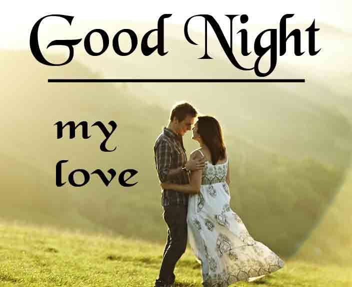 Good Night Wallpaper Images With Love Couple