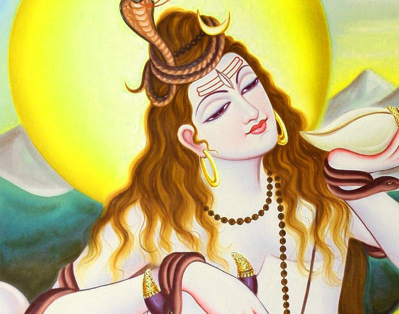 Free 1080p Lord Shiva Images Wallpaper