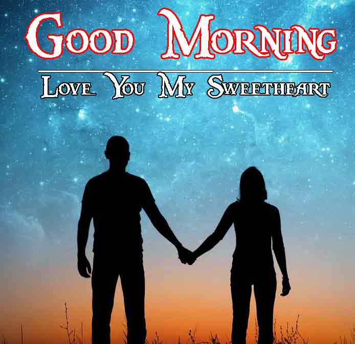 Love Couple good morning 34