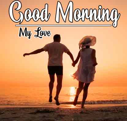 Love Couple good morning 4