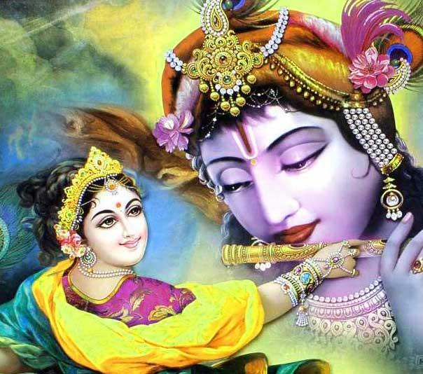 Beautiful Hindu God Radha Krishna Images