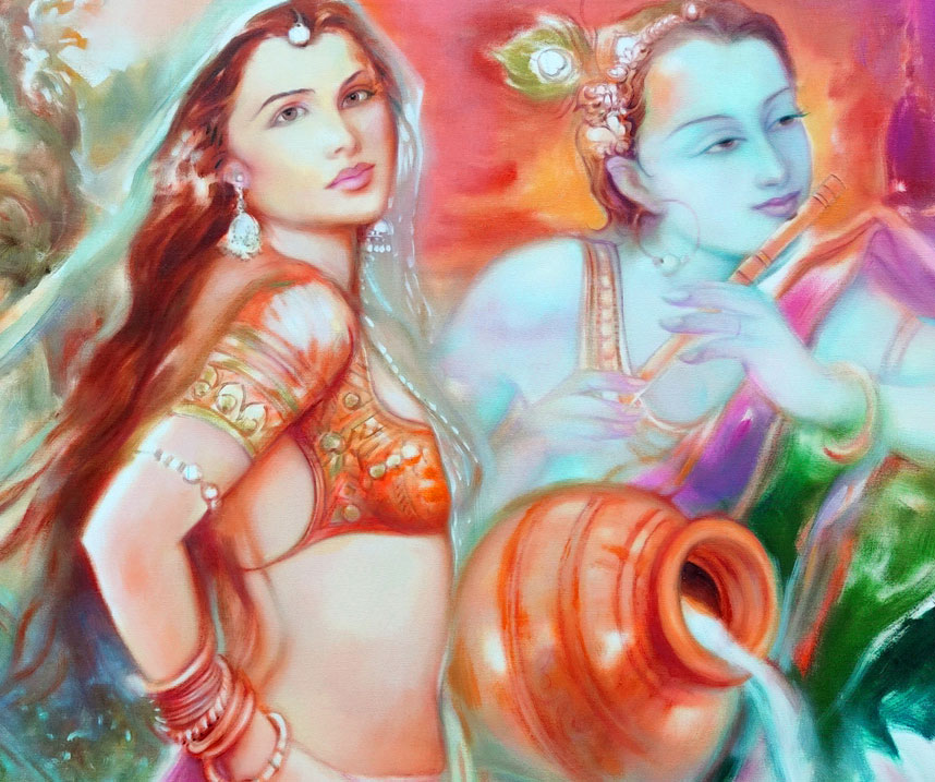 Radha Krishna HD Wallpaper photo for Facebook