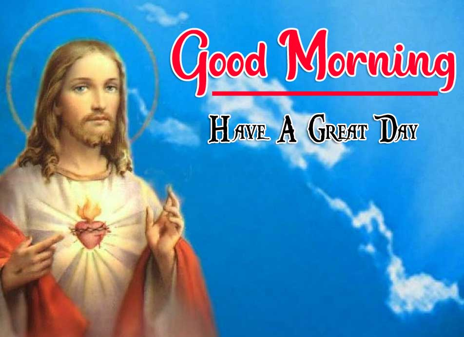 Beautiful Lord Jesus good morning Wishes Images Download