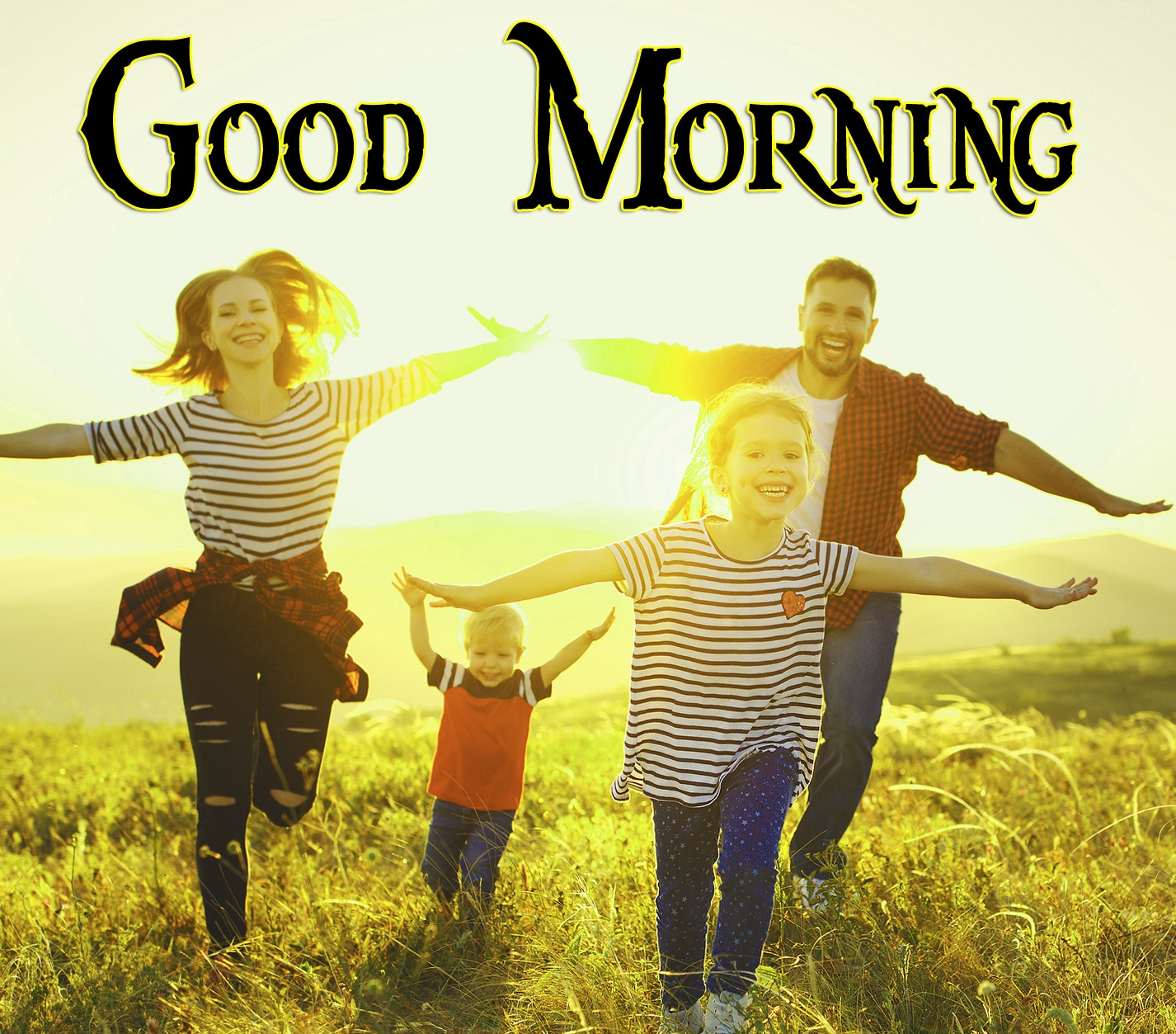 Happy Family Good Morning Wishes Images 7