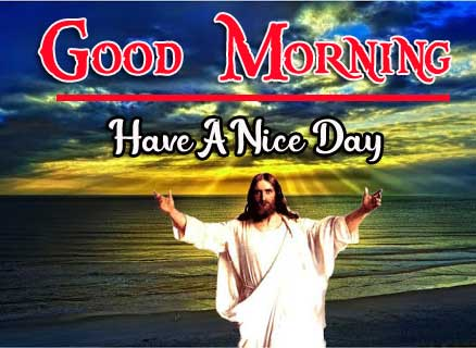 Lord Jesus good morning Wishes Wallpaper HD