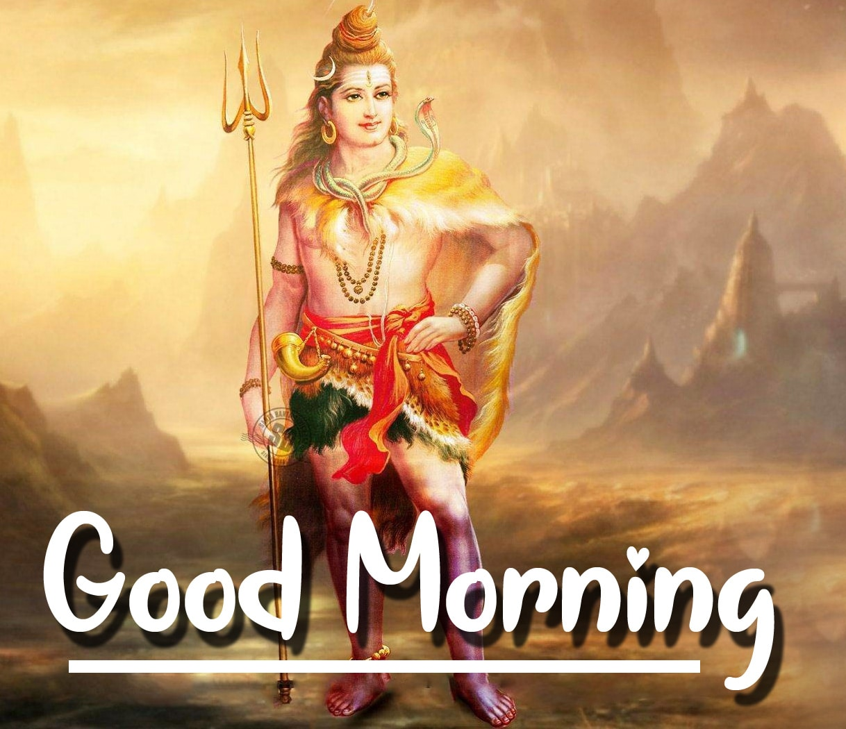 Shiva Good Mornign Wallpaper 22
