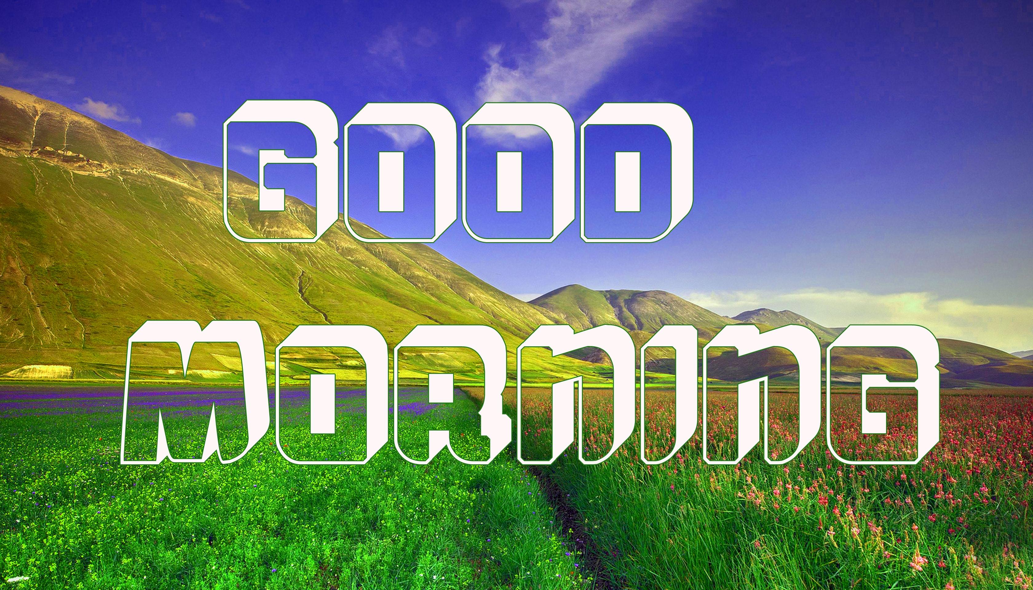 3d Good Morning Images Pics Wallpaper Download