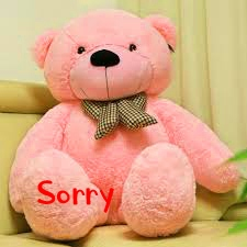 Teady I am Sorry Images Pics Download