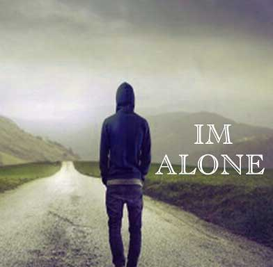 Alone Whatsapp DP 12