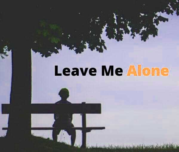 Alone Whatsapp DP 2