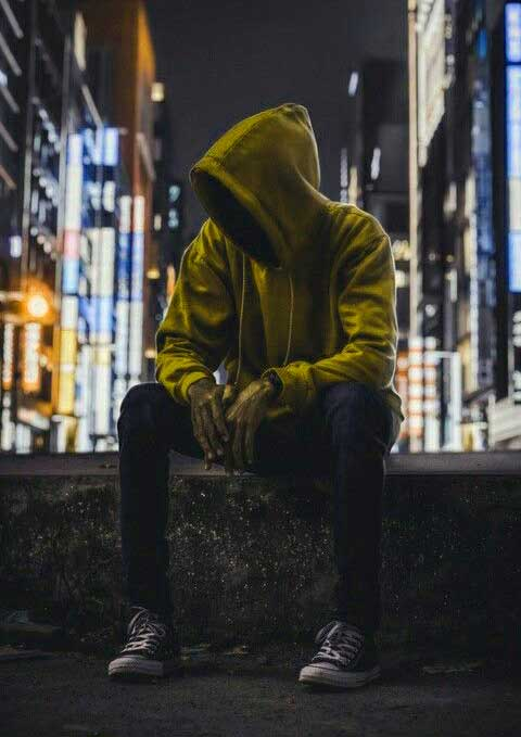 Alone Whatsapp DP 30
