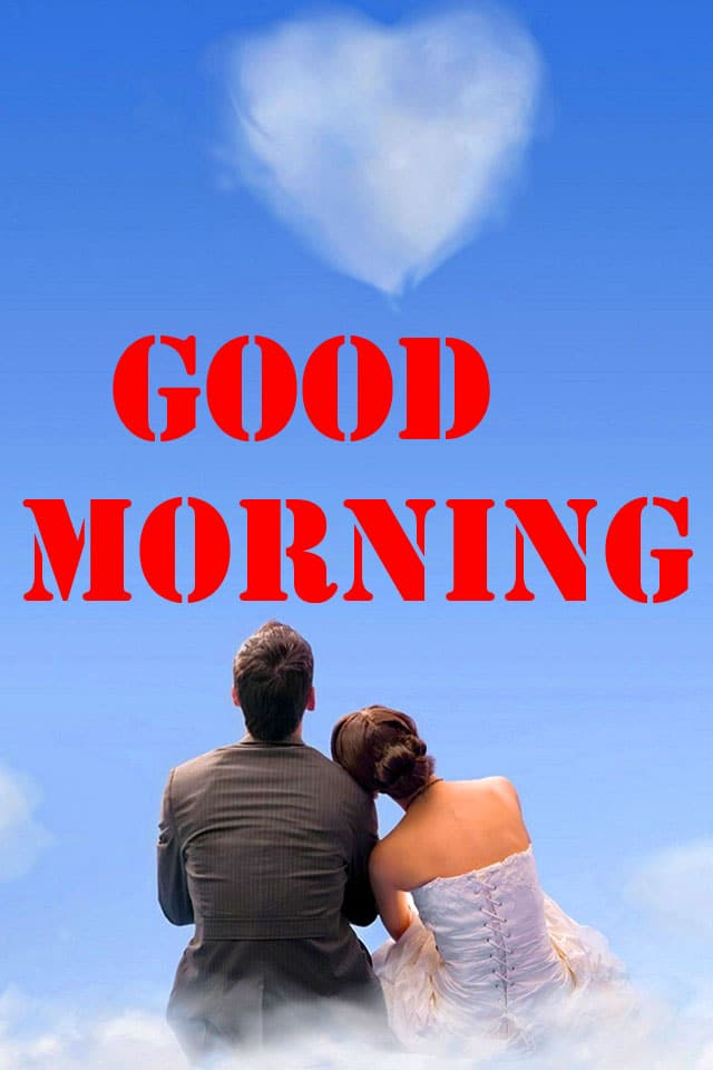 Beautiful Couple Good Morning Wishes Pics Download 1