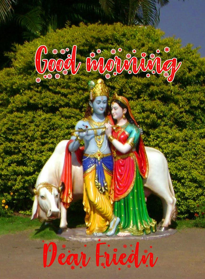 God Radha Krishna Good Morning Wishes Images Download
