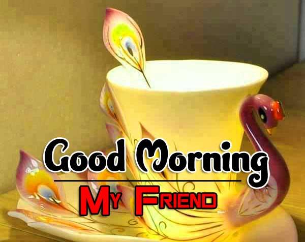 Good Morning Tea Cup Wallpaper for Whatsapp