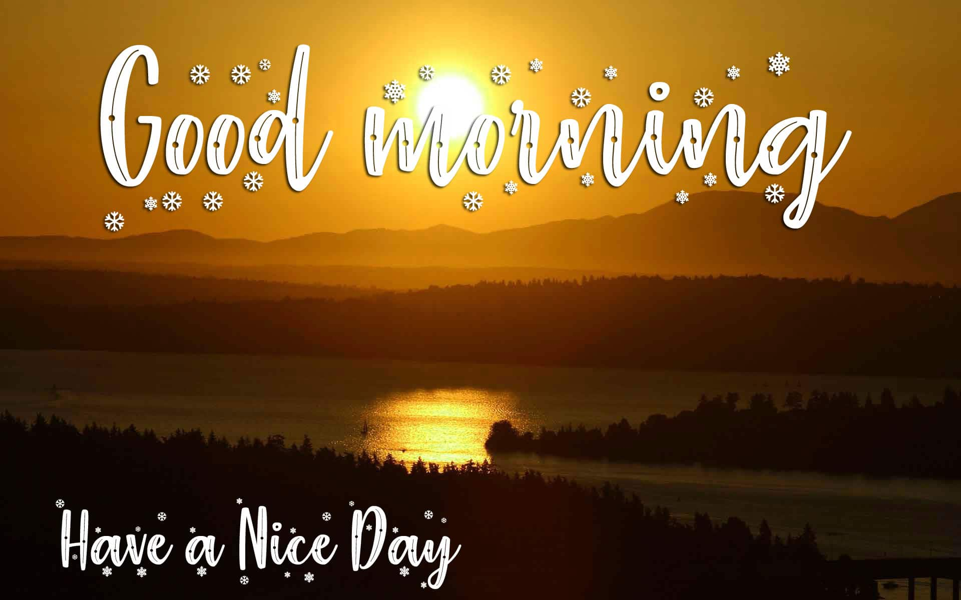 Good Morning Wishes Pics With Sunrise Free