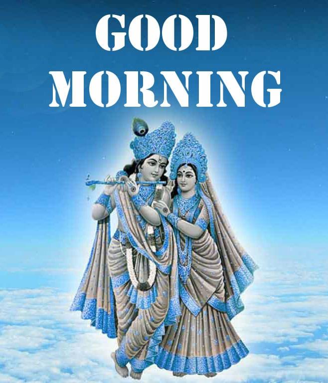 HD Radha Krishna Good Morning Wishes Images Download