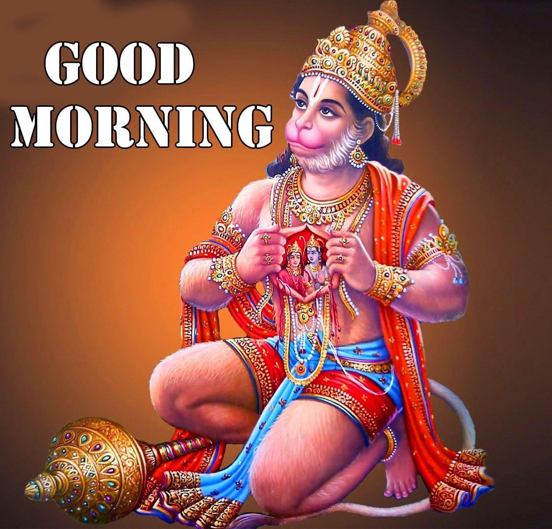 Hanuman Ji Good Morning Wishes Images Pics HD Free