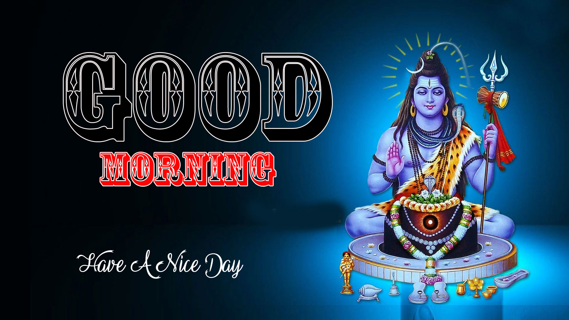 Lord Shiva Free Good Morning Wishes Pics Download Free
